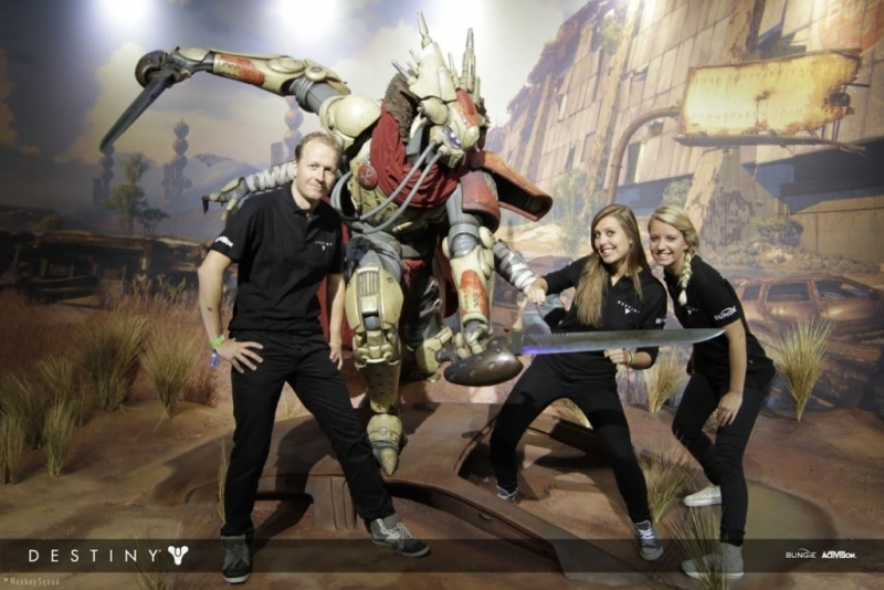 Activision - Destiny - gamescom - gaming - hostess - promoteam