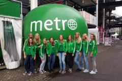 Metro - sampling - promoteam - feyenoord - open dag