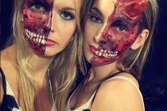 Phonejuice - hostesses - promoteam - make up - halloween