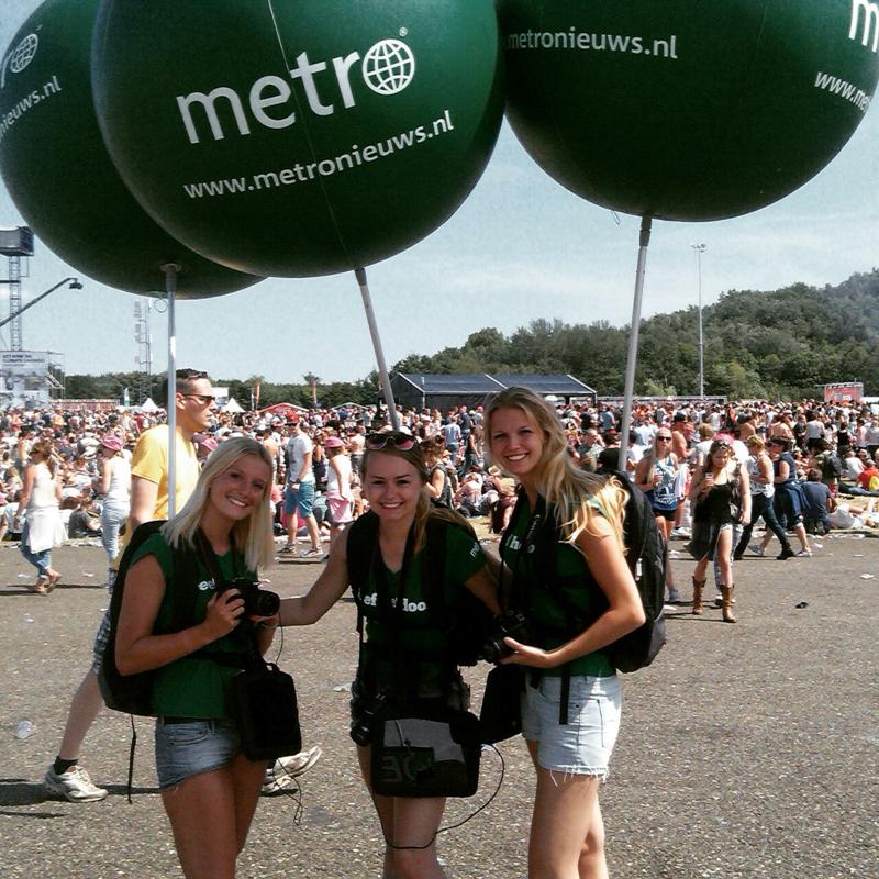 Metro promoteam - merkactivatie