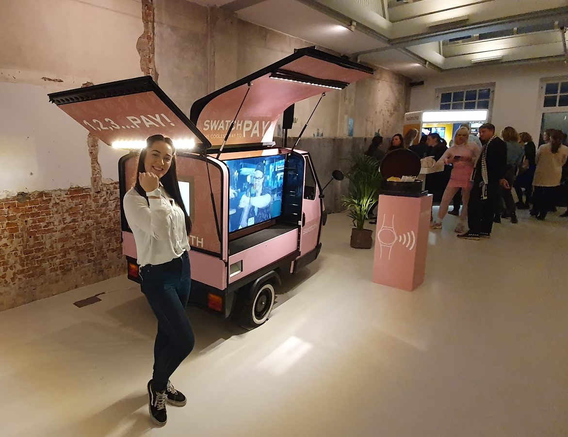 TukTuk PhotoBooth - Swatch influencer event 4
