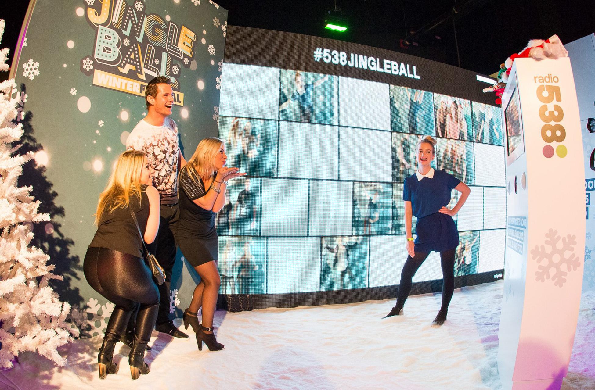 Radio 538 - Hostesses - Jingle Ball - Ziggo Dome - PhotoBooth