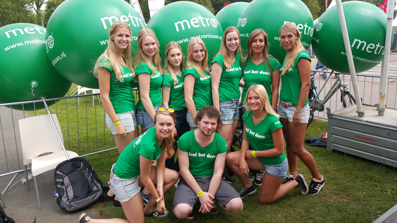 Promoteam - METRO - Parkpop - Festival - Sampling